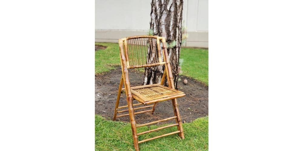 Product Spotlight : Bamboo Folding Chair