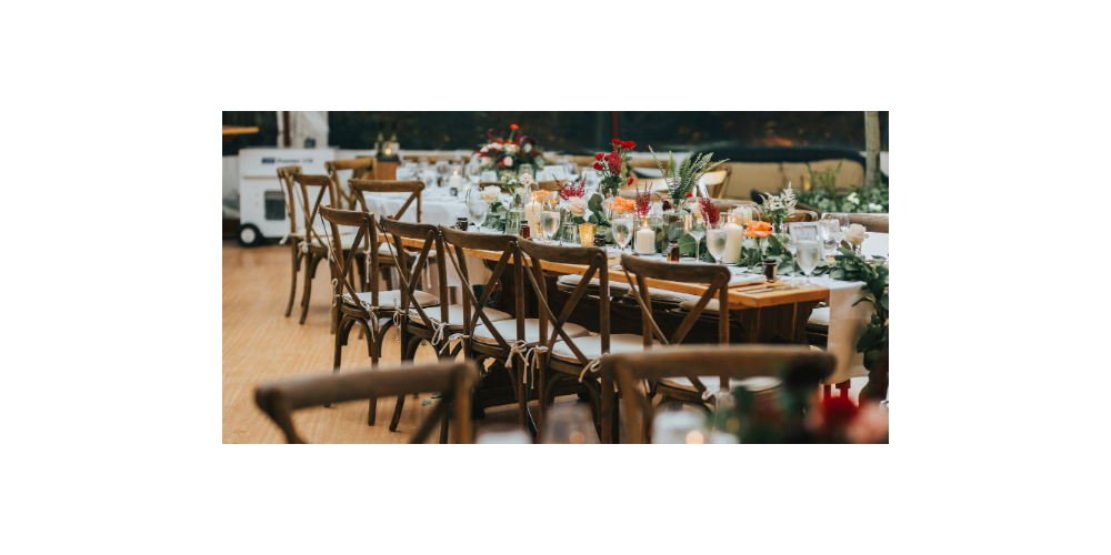 Rustic Chairs & Tables for Fall Events