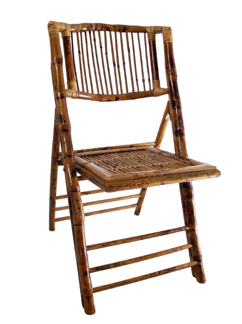 Wholesale Folding Chairs Bamboo Stick Back