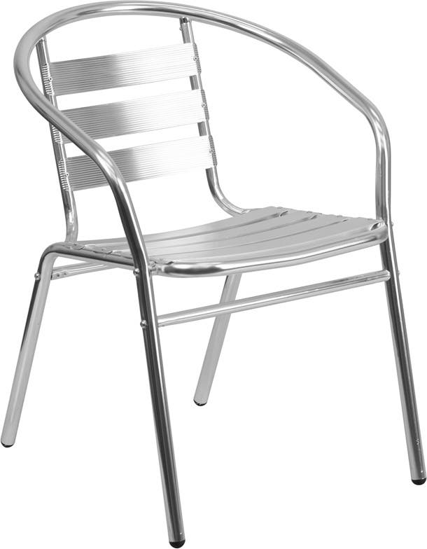 outdoor stack chairs. Commercial Indoor-Outdoor Restaurant Stack Chair With Triple Slat Back | EventStable.com Outdoor Chairs