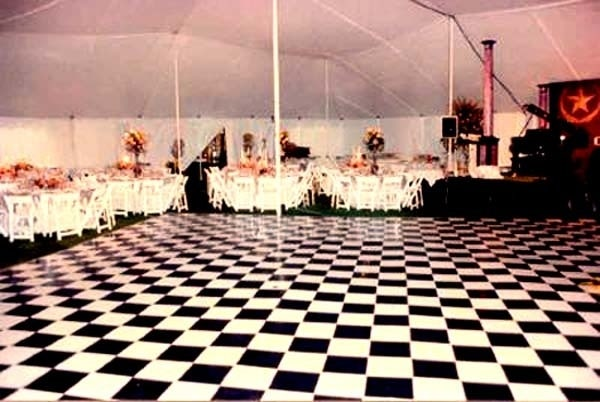Buy Black And White Vinyl Complete Dance Floor 4 X 4