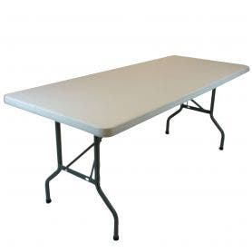 Plastic folding table - 6'x30'' banquet