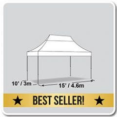 10' x 15' Fast Shade Instant Pop-up Canopy Tent
