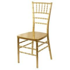 Resin Chiavari Chair - Gold