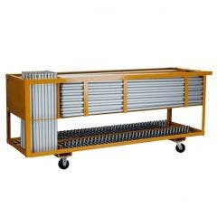 25 Booth Storage Cart