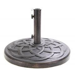 44 lb. Bronze Polystone Umbrella Base