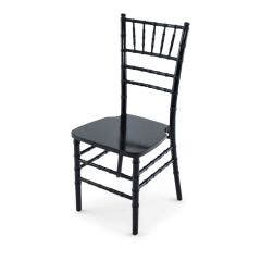 Wood Chiavari Chair - Black