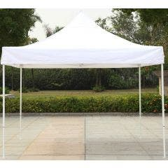 10' x 10' Economy Easy Open Retractable Canopy - White