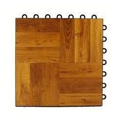 Dark Oak Parquet Complete Dance Floor