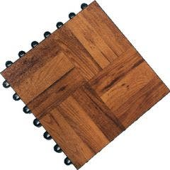 Dark Oak Vinyl Laminate Complete Dance Floor - Single Panel