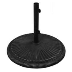 50 lb. Split Neck Cast Iron Umbrella Base