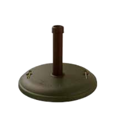 48 lb. Black Concrete Umbrella Base