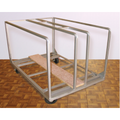 CP Deluxe Portable Dance Floor Cart