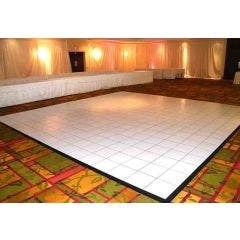White Complete Laminate Dance Floor