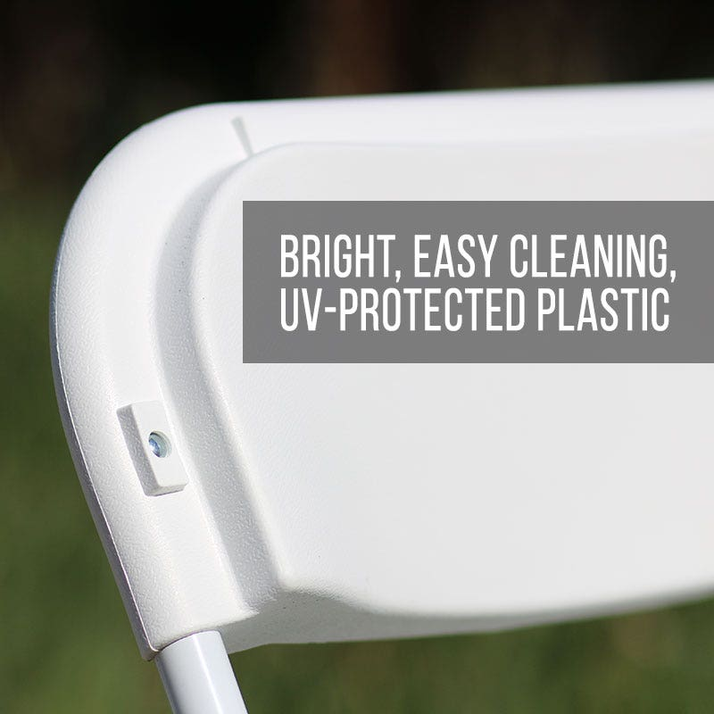 Bright, UV protected plastic