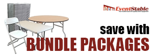 Save a bundle with our Event Packages