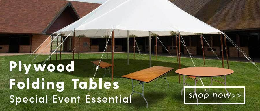 Plywood Folding Tables   Special Event Essential