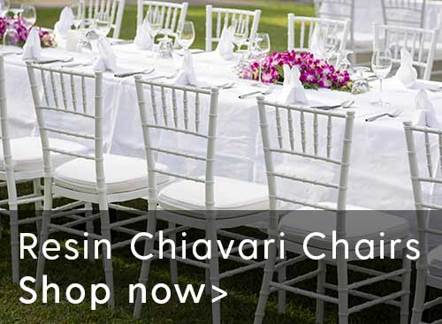 Resin Chiavari Chairs   Shop Now